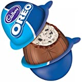(Bundle of 4) Oreo Egg Milk Chocolate with Creme Filling and Cookie Bits - Imported from Canada