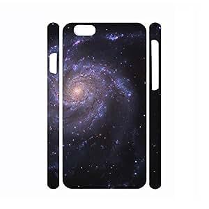 Retro Dustproof Galaxy Pattern Hard Plastic Phone Shell for Iphone 6 Plus Case - 5.5 Inch