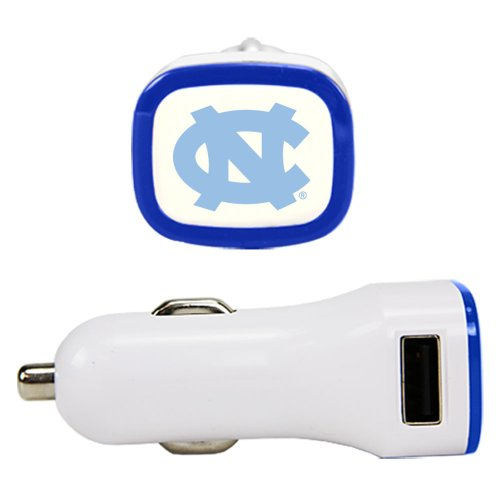 North Carolina Tar Heels Automobile - NCAA North Carolina Tar Heels Car Charger, White