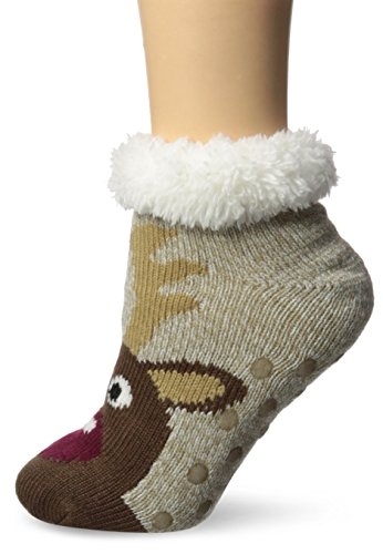 Jacques Moret Women's Cozy Warmer Socks, White, 9-11