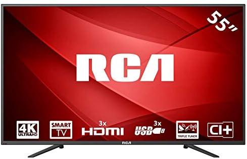 RCA RS55U1-EU 4K Smart LED TV (55 Pulgadas, Triple Tuner, HDMI, Ci+, Reproductor de Medios a través de USB 2.0, 60Hz): Amazon.es: Electrónica