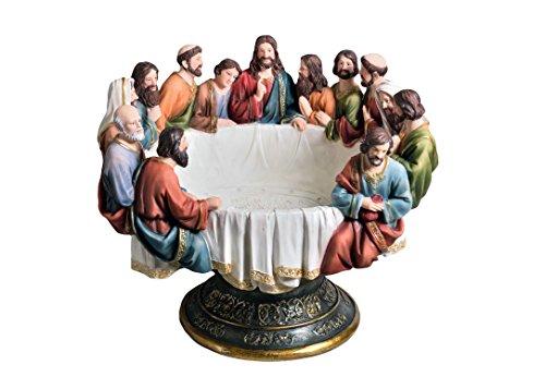 OK Lighting OK-2534-B1A Last Supper Decorative Bowl, 15.75
