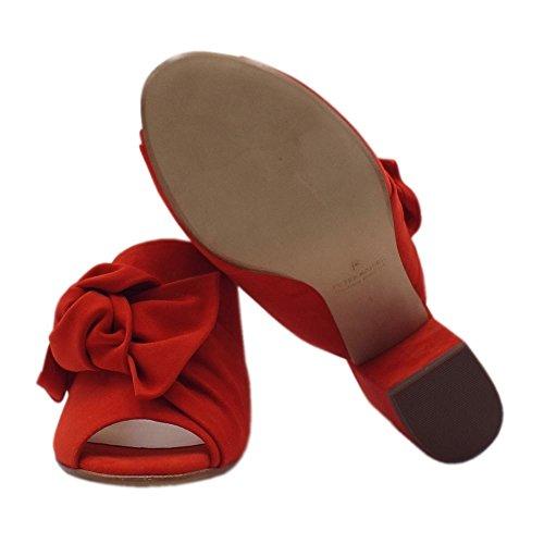 Sandali Anilia Rosso Peter Coral Corallo Red Chic In Eleganti Kaiser qUOwt