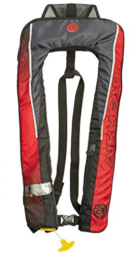 Inflatable PFD, 24g SL Auto Deluxe (1F),Red by Airhead