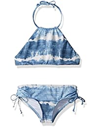 Girls' LIL Bliss High Neck Two Piece Swimsuit Set