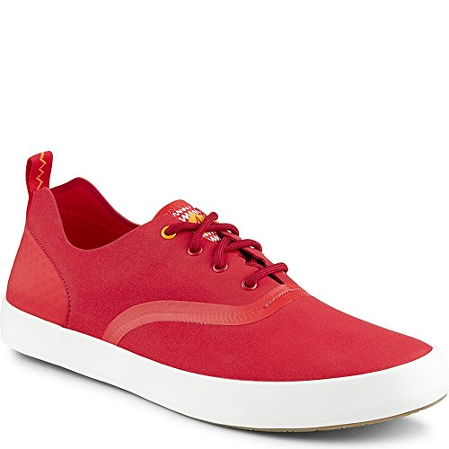 Paul Sperry Flex cubierta CVO Zapatillas de microfibra Risk Red