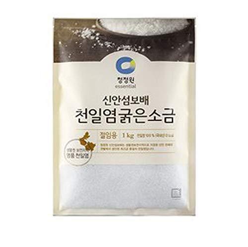 Natural Premium Sea Salt for Kimchi Brining: the