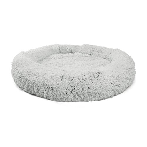 Best Friends by Sheri Luxury Shag Fuax Fur Donut Cuddler, Extra Large – Donut Cat and Dog Bed by Best Friends by Sheri