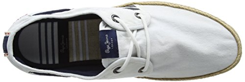 Bianco Jeans Sailor Cruise Espadrillas Uomo White Deck Pepe YBw7q7