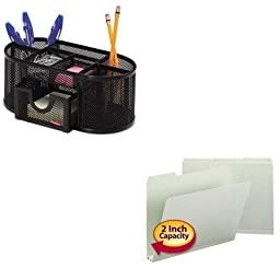KITROL1746466SMD13234 - Value Kit - Smead Recycled Folder (SMD13234) and Rolodex Mesh Pencil Cup Organizer (ROL1746466)