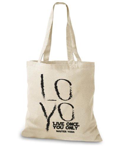 LOYO You Master custodia Stylo bags Once iuta borsa Yoda Live Naturale Only wX66IAq