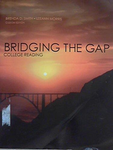 Bridging the Gap College Reading (Custom 10th Edition for William Paterson University)