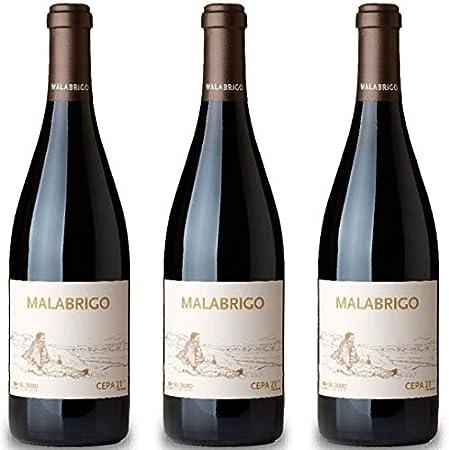 Malabrigo Vino Tinto - 3 botellas x 750ml - total: 2250 ml