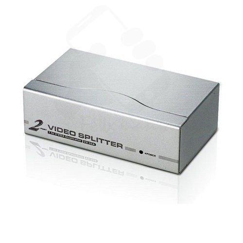 Selector de video VGA SVGA Splitter interruptor de 2 puertos monitor TFT LCD Envio 48//72H Felixmania/®
