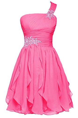 Promworld Women\'s Ein Strap Wulstige Chiffon Ballkleid Abendkleid ...