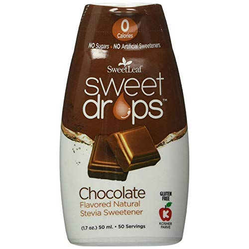 SweetLeaf Sweet Drops Liquid Stevia Sweetener, Chocolate, 1.7 Ounce