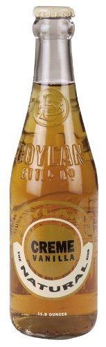 Boylan Natural Crème Vanilla Soda ( 6x4/12 OZ)