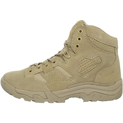 5.11 Tactical Men's Taclite 6-Inch Suede Coyote Work Boots, Odor Control Liner, Style 12030: Shoes