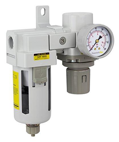 PneumaticPlus SAU4020M N04BG Filter Regulator Modular