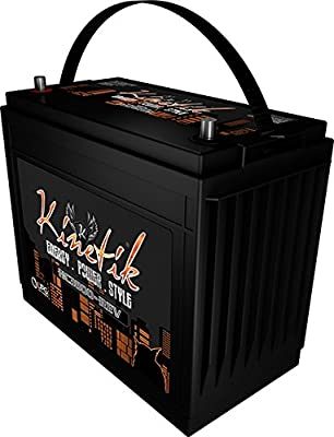 Kinetik HC3800-REV 3800 Watt 12V Car Audio Power Cell/Battery High Current AGM