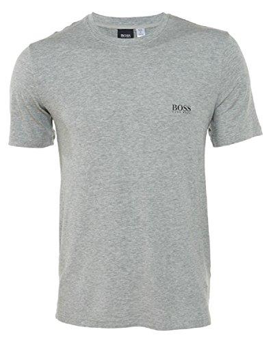 BOSS HUGO BOSS Men's Modal Crew Neck Shirt, Grey, Large