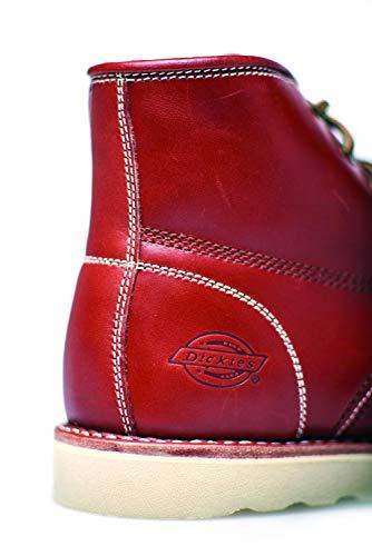 Dickies Dickies Dickies da Vari Boot in Moc Pelle Uomo Scarpa da Toe New Scarpe Colori Chestnut Stivali Orleans r5wUOr