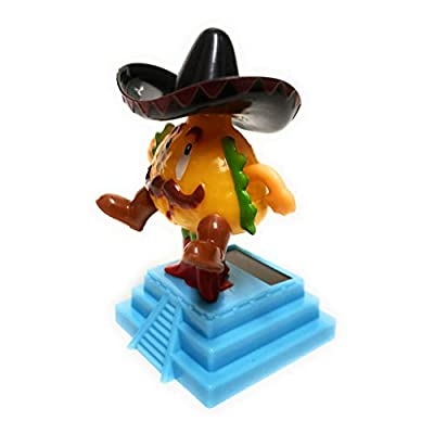 Greenbriar Plastic Solar-Powered Dancing Taco Style May Vary: Toys & Games