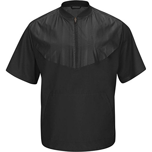 Majestic Youth Cool Base Short Sleeve Training Jacket by Majestic Athletic