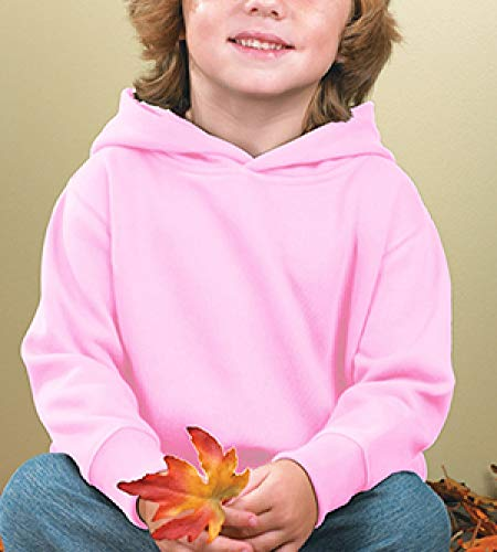 RABBIT SKINS Toddler Fleece Long Sleeve Hooded Pullover Sweatshirt with Side Seam Pockets - http://coolthings.us