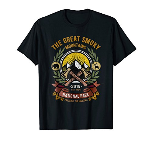 - Great Smoky Mountains T-shirts, Smoky Mtns Souvenir Tees