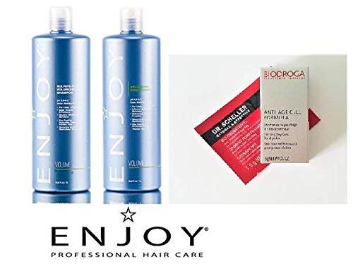 Enjoy Sulfate Free Volumizing Shampoo and Conditioner 33.8 oz. DUO + 2 Free Samples by Enjoy