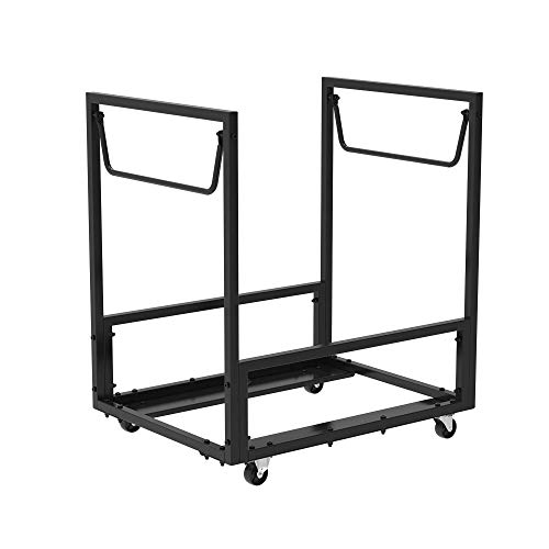 Lifetime 80279 Rolling Essential Chair Cart, Black (Renewed)