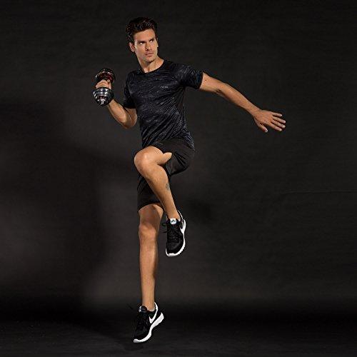 94f84b6ca90 Niksa 3 Pcs Mens Fitness Gym Clothing Set,Sports Wear Exercise ...