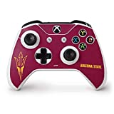 Skinit Decal Gaming Skin for Xbox One S Controller - Officially Licensed College Arizona State Pitchfork Design