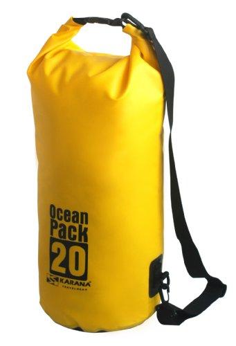 Bag Pack Dry Kayak Yellow Travel Karana 20L Ocean Litre 20 Waterproof Day Eq6w5n0Hx