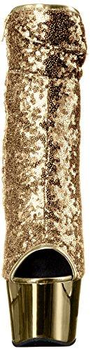 Chrome Gold Gold 1008SQ Pleaser Sequins DELIGHT XpaZxwqzI
