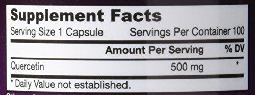 Jarrow Formulas Quercetin 500 mg Caps