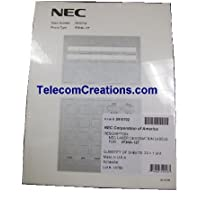 NEC DESI Laser Labels for the IP-12e & DG-12e Phones / Part# 0910064 IP3NA-12TIXH & Part# 0910044 IP3NA-12TXH ~ Stock# 0910702 ~ DESI IP3NA-12T