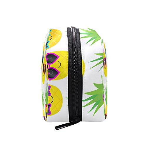 Cosmetic Bag Pineapple Sunglass Girls Makeup Organizer Box Lazy Toiletry Case
