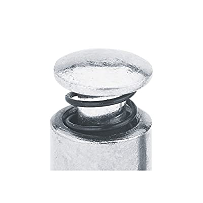 "Lumax Silver LX-1422 1/8"" NPT Male Bleeder Valve. for use to Vent Air Pockets in Hand Grease Guns. Zinc Plated for Maximum Protection Against Corrosion: Automotive"