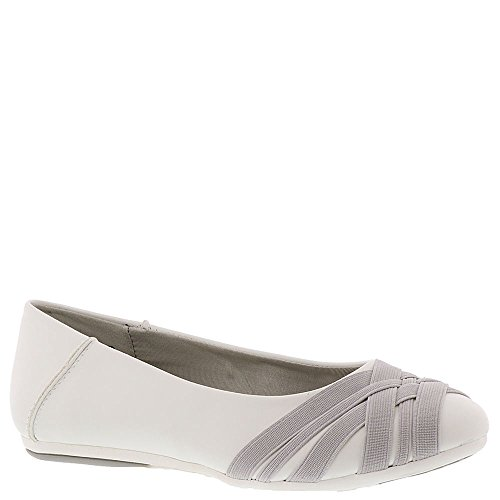 Aerosoles Womens Spin Cycle Ballet Flat White 0899CVarGU