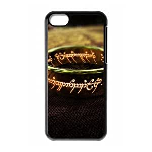 The Lord Of The Rings Ring iPhone 5c Cell Phone Case Black gift zhm004-9262204