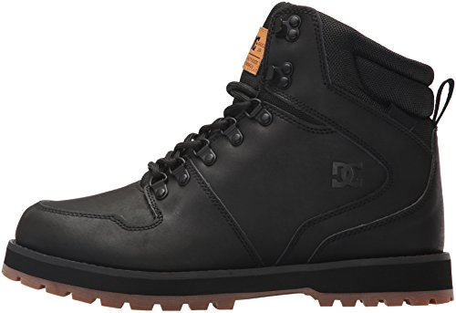 DC Men's Peary, Black/Gum, 9 D D US