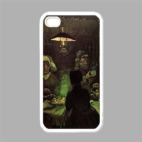 El comedores de patatas de Vincent Van Gogh blanco iphone 4 ...