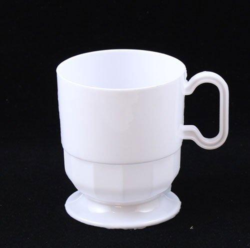 White 8 Ounce Teacup - 9