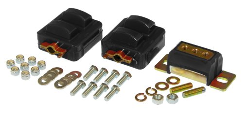 - Prothane 7-1908-BL Black Motor and Transmission Mount Kit