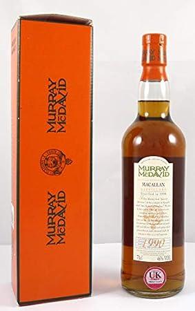 Macallan 10 Year Old Speyside Scotch Whisky 1990 Murray McDavid Bottling en su caja de regalo original, 1 x 700ml