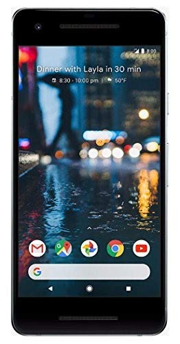 Google Pixel 2, 64GB, Clearly White, GSM Unlocked Android Smartphone, 5
