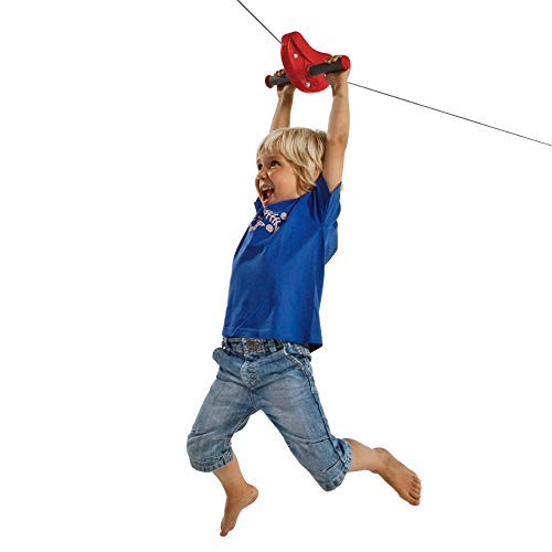 Blue Rabbit Play Falcon Zip Line Kit, Red by Blue Rabbit Play (Image #1)