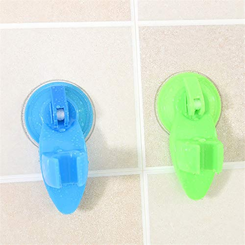 Powerful Suction Cup Shower Seat Bathroom Shower Head Holder Base Sucker Shower Seat Stand Base Wall Mounted Hook Rack